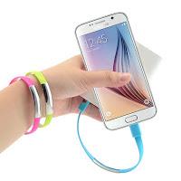 Akilli telefonlar icin bileklik sarj kablosu