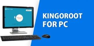 Kingoroot pc ile root atma