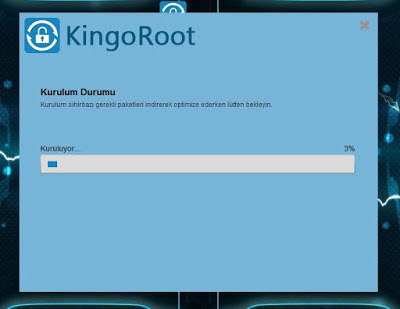 Kingoroot pc ile root atma
