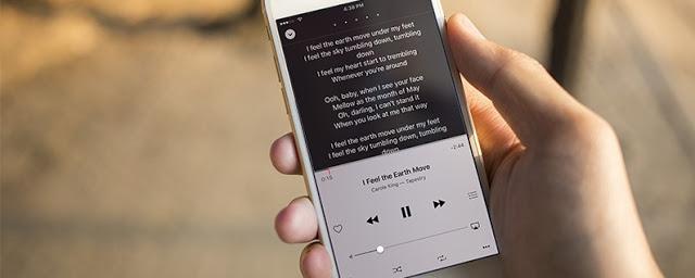 iphone-da-sarki-sözlerini-görmek