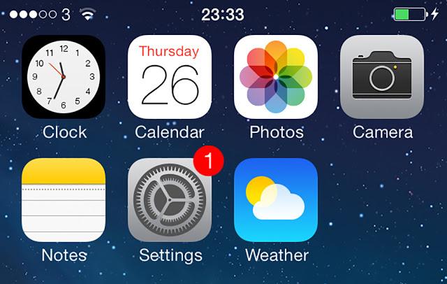 İphone uygulama güncellerken öncelik verme