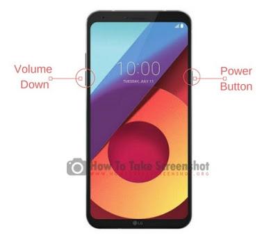LG Q6 ekran görüntüsü alma