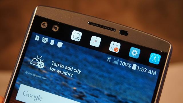 LG v10 ekran görüntüsü alma