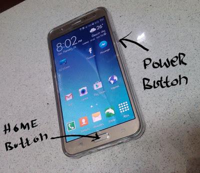 Samsung galaxy j7 ekran görüntüsü alma