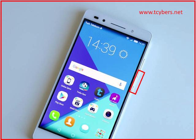 Türk telekom honor 7 ekran görüntüsü alma