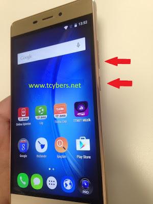 Turk telekom TT175 ekran görüntüsü alma