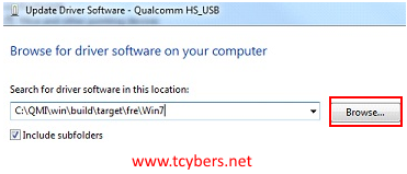 qualcomm usb driver indir