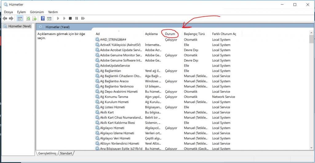 windows-10-gereksiz-hizmetleri-kapatmak