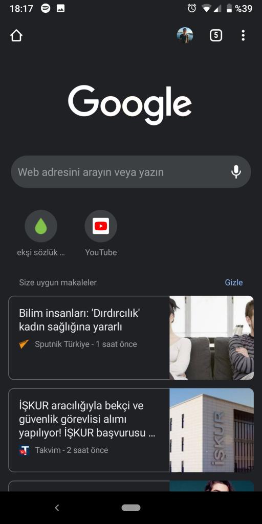 Google Chrome Karanlık Modunu Aktif Etmek-2