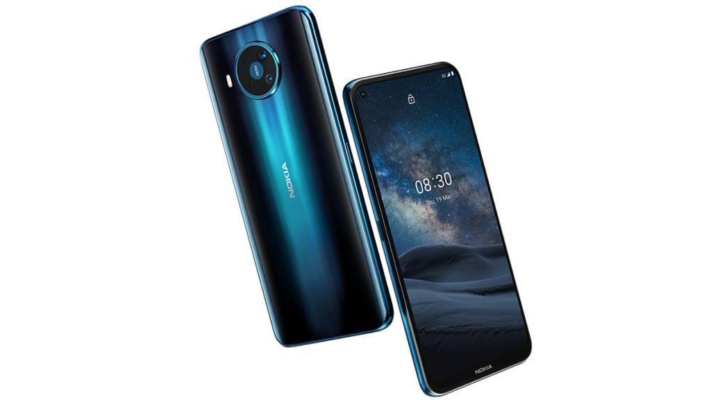 Nokia 8.3 5G Parmak İzi Sensörü